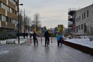 Road skating